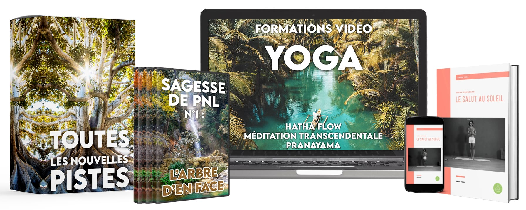 Association Abondance et Bien-Être (47€/mois) Best-Seller (Santé Naturelle - Yoga - Méditation - Loi de l'attraction)