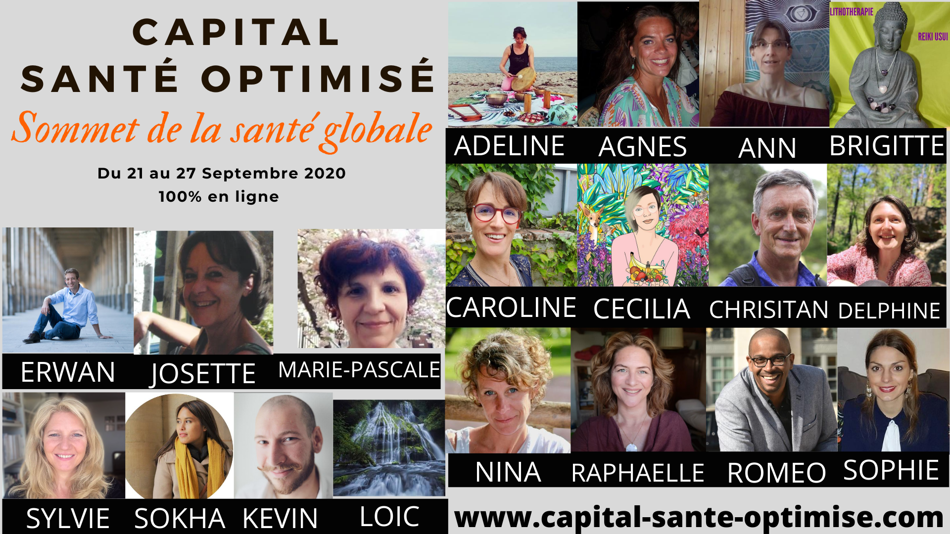 Sommet Capital Santé Optimisé