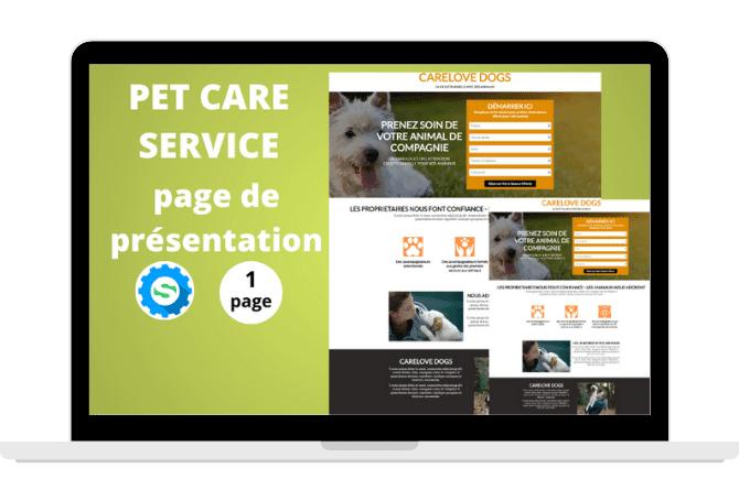 Template Pet Care Service