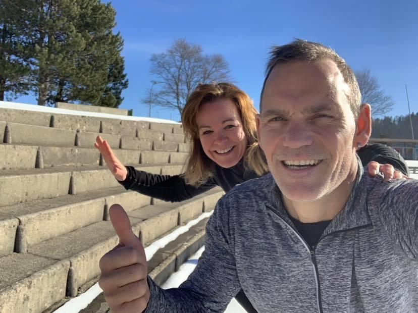 Sébastien et Sophie, coaching sportif et nutrition