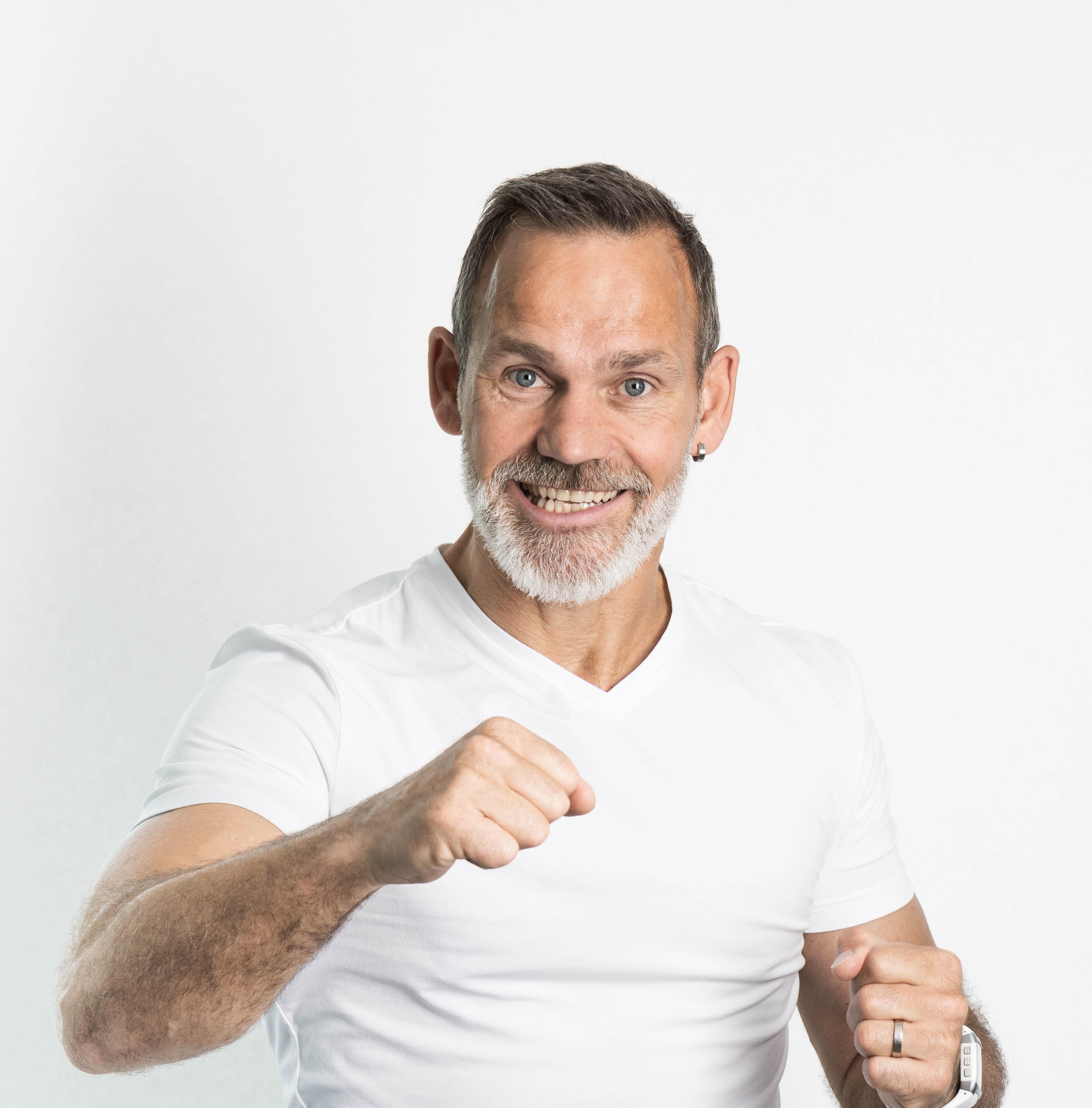 Sébastien en pleine forme à 50 ans