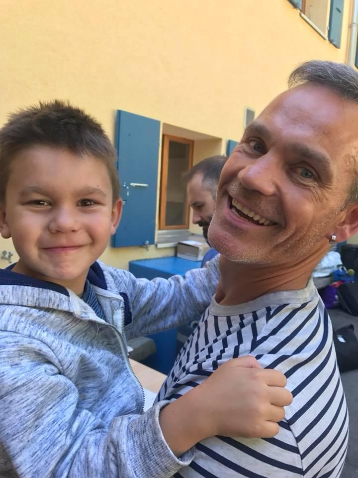 Sébastien et son fils