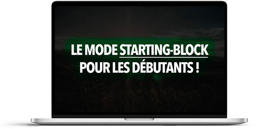 En mode Starting-Block pour les débutants !