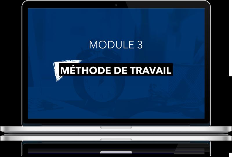 Module 3: Méthode de travail