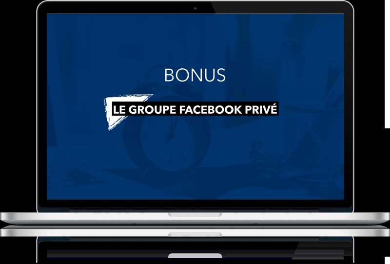 Un groupe Facebook privé