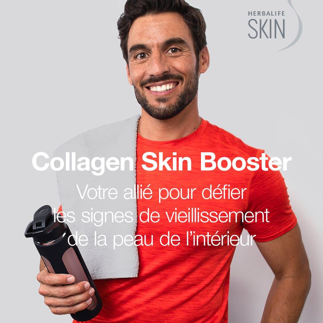Collagen Skin Booster - Boisson Antivieillissement !