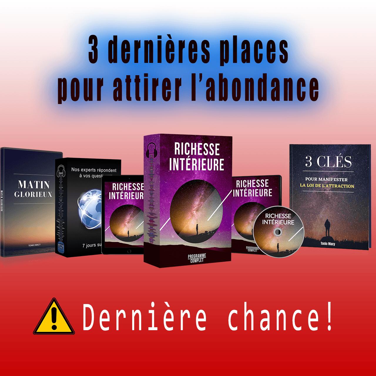 🔮 GROUPE 1 - Le Programme : Richesse Intérieure 🔮