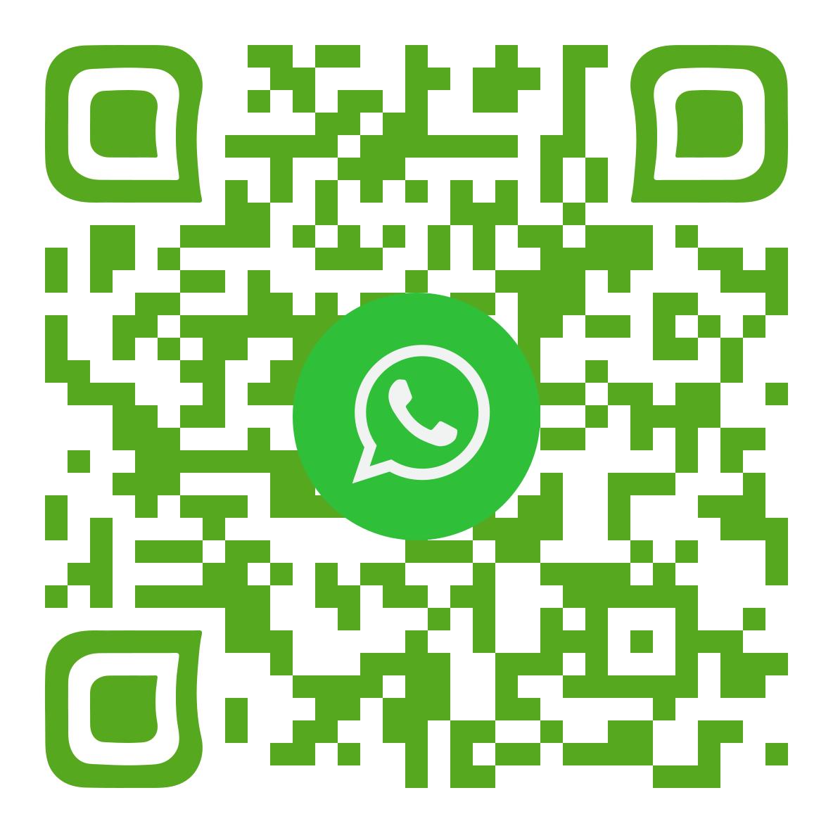 Contactez-moi par SMS via WhatsApp