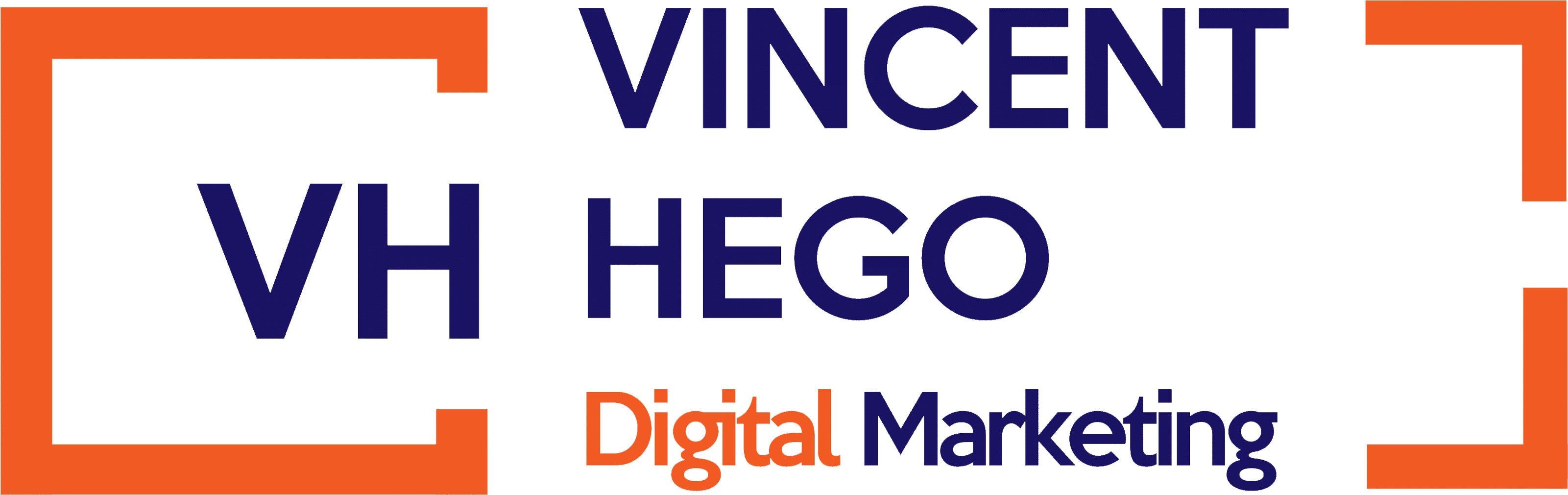vincent hego marketing digital logo header