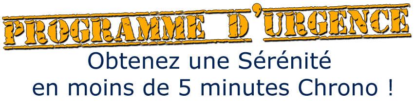 Programme d'urgence sérénité en 5 minutes avec Ma Puissance Mentale Geoffrey Brochet