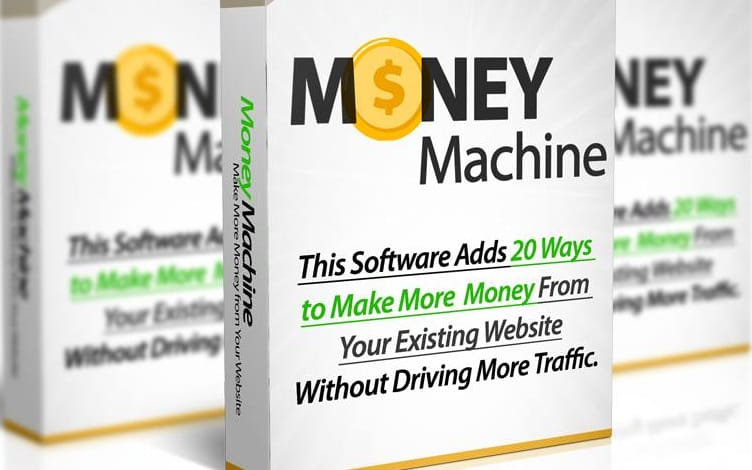 WP Money Machine ( ajoutez plus de 20 sources de revenus à votre site avec ce seul outil) jusqu'à 227,5€ de commissions pour vous