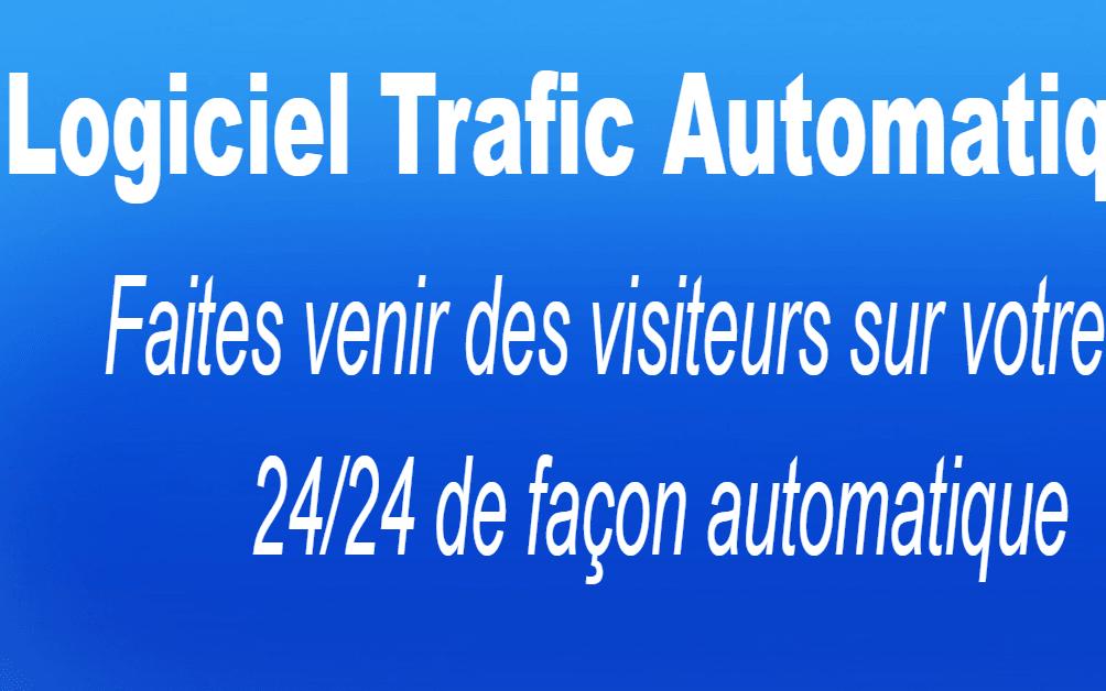 Logiciel Trafic Automatique: NOUVEAU LOGICIEL Par abonnement Pour Attirer des Visiteurs en Automatique gratuitement et 24/24 . produit par abonnement pour des commissions récurrentes à vie.