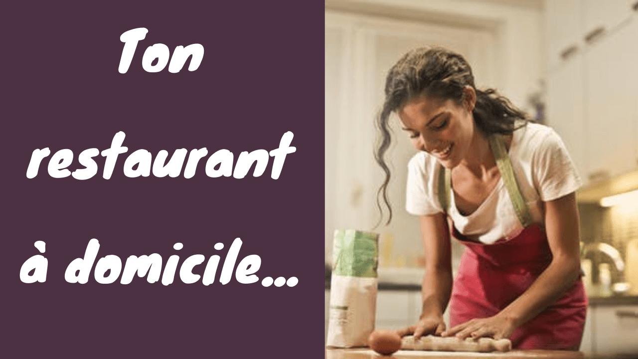 Vis de ta passion pour la cuisine et génère plus de 2000 € dès le premier mois de lancement