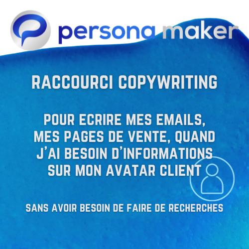 Persona Maker logiciel avatar client idéal bénédicte Lagardette