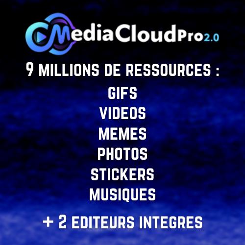 mediacloud pro 2.0 logiciel 9 millions de ressources bénédicte lagardette