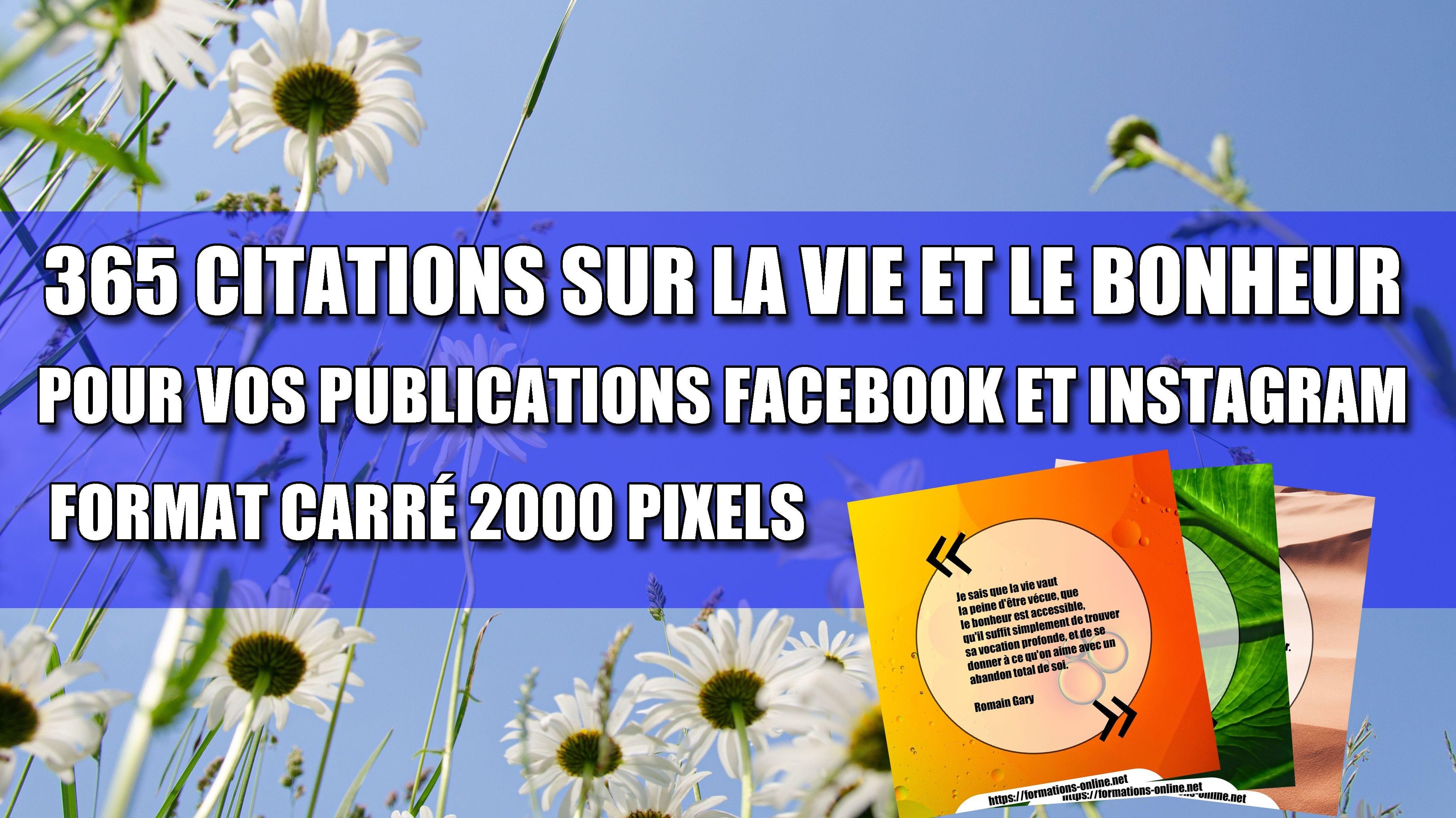 Kit de Citations Publications Contenus pour Réseaux Sociaux