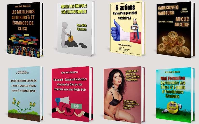 🎁🎁🎁 Pack d'Ebooks à Offrir à votre audience 🎁🎁🎁