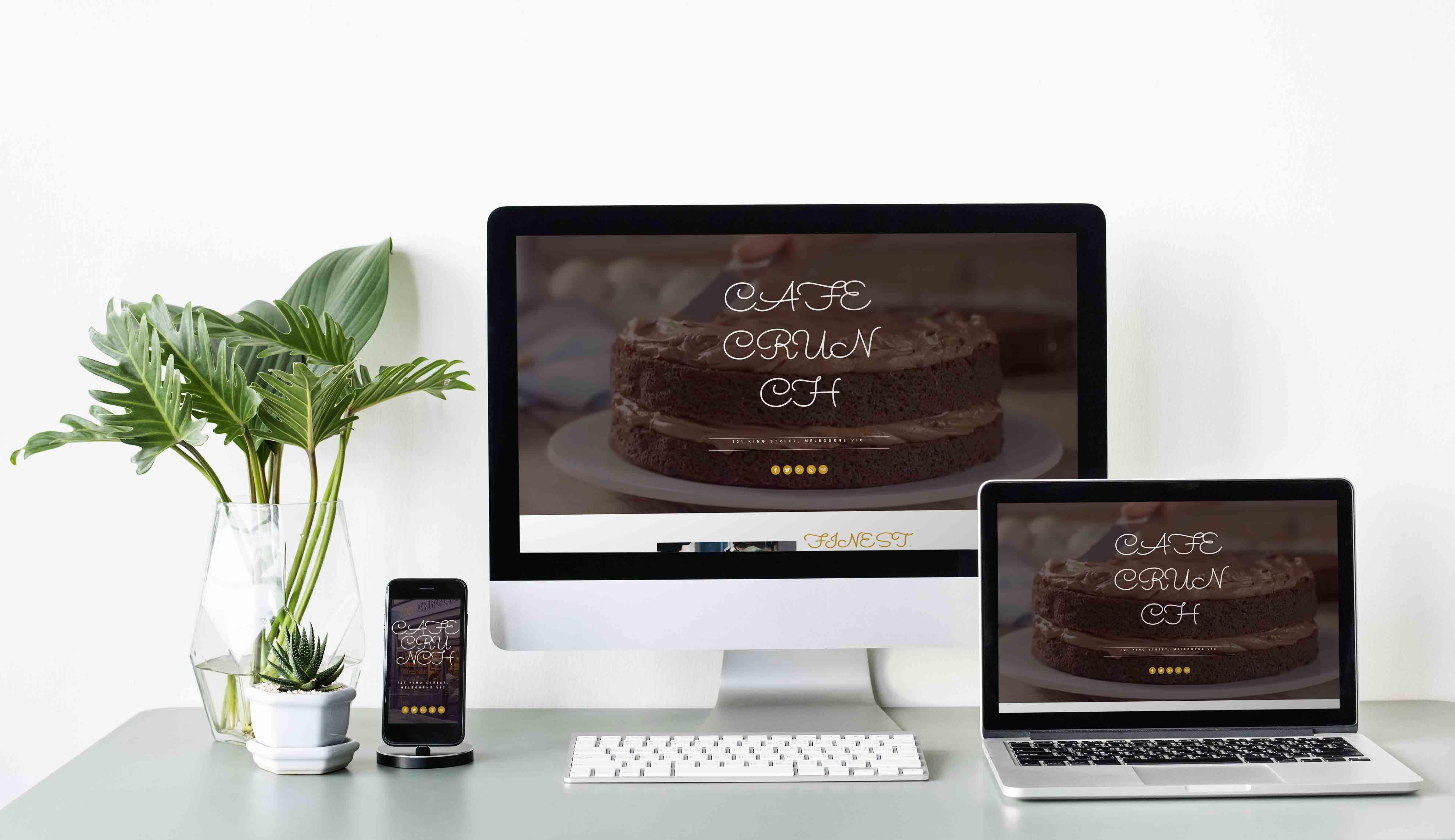 Template Wordpress + Elementor pour Café / Restaurant
