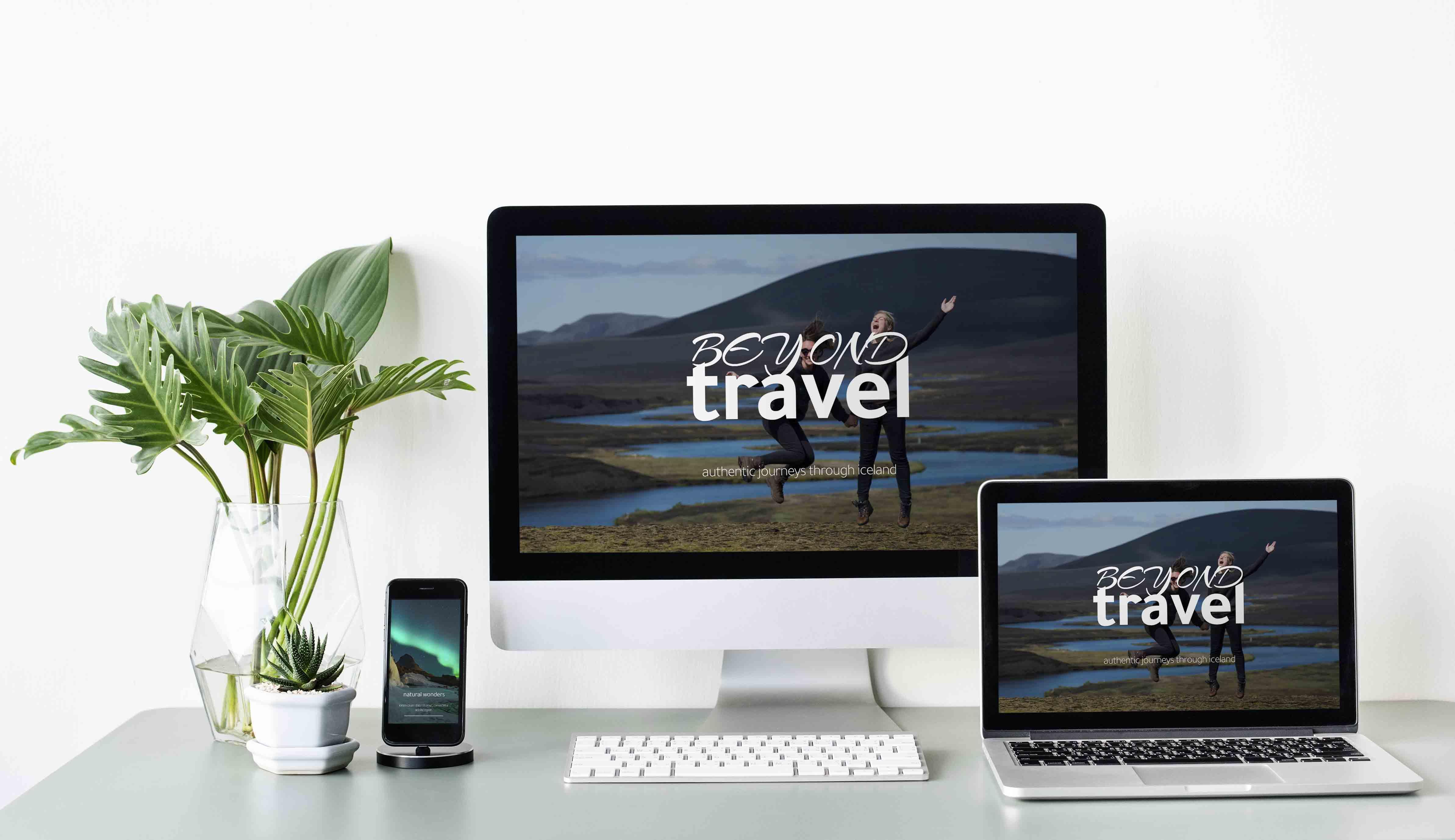 Template Wordpress + Elementor type Voyage