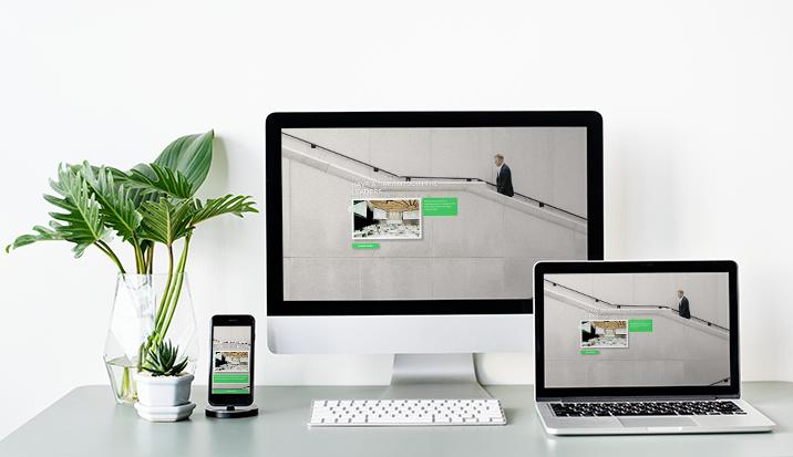 Template Wordpress + Elementor pour Business