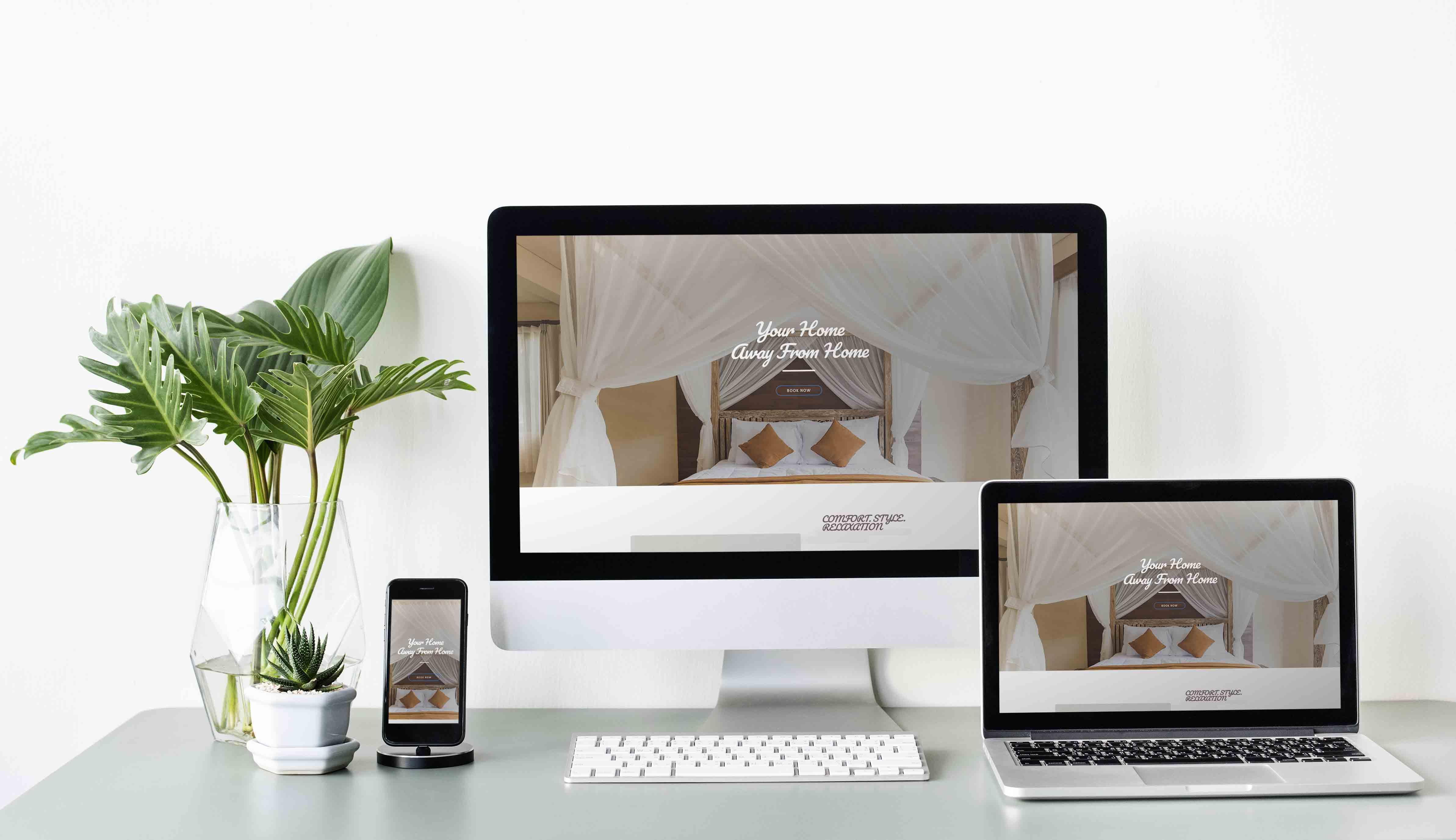 Template Wordpress + Elementor pour Bed & Breakfast