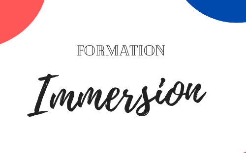 Formation IMMERSION
