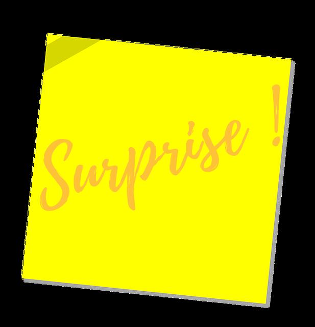 post-it module surprise
