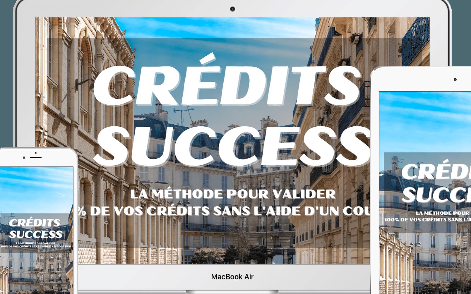 CRÉDITS SUCCESS