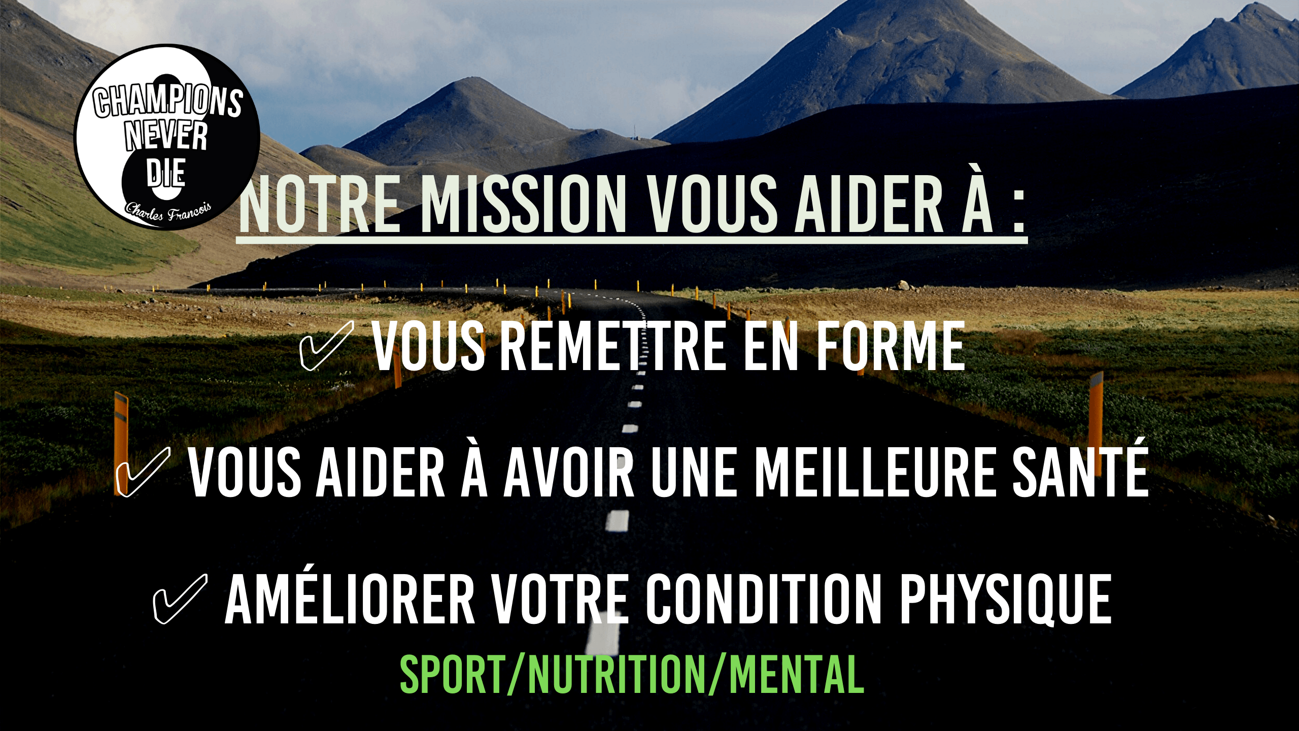 Champions never die-Coaching sport nutrition mental
