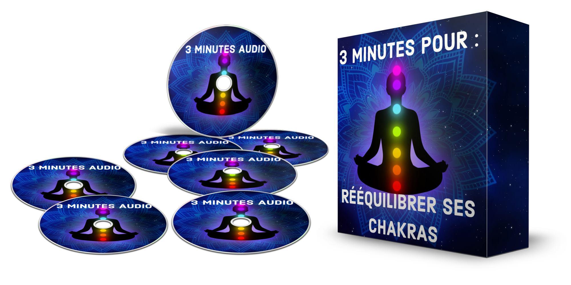 Le 2ème bonus s'appelle « 3 minutes pour rééquilibrer ses chakras »