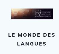 le monde des langues