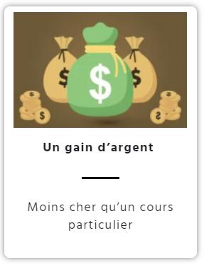 gain d'argent