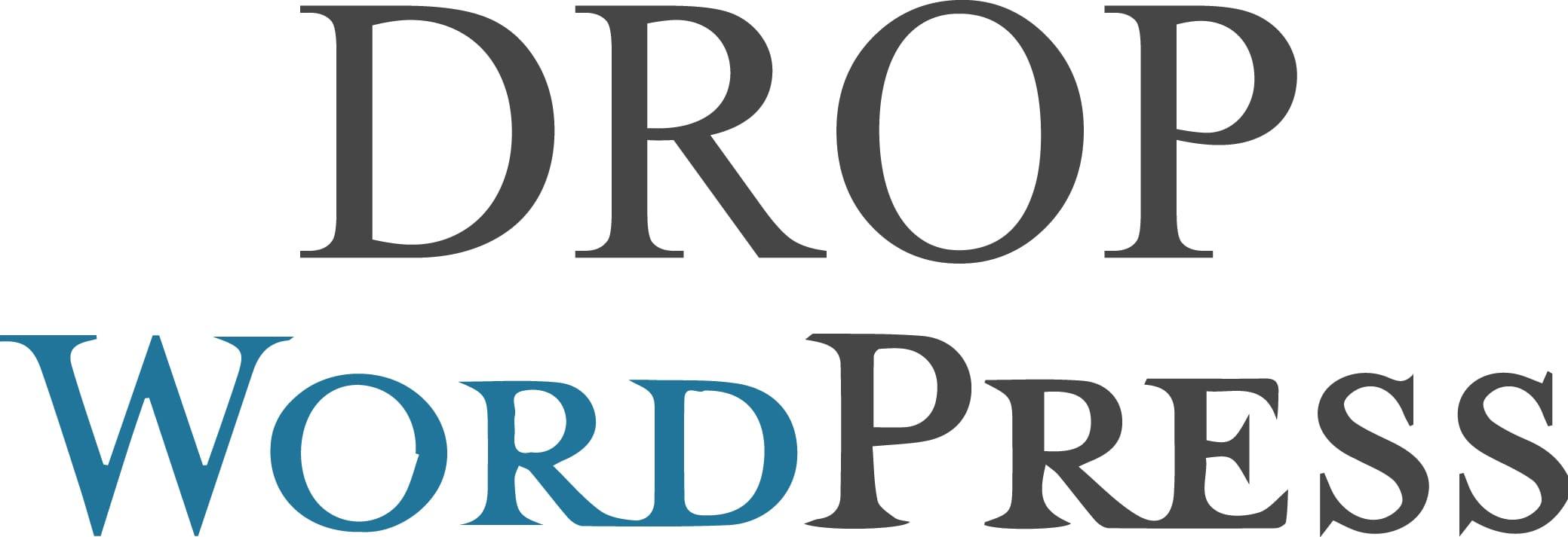 DropWordpress : apprendre à vendre grâce à son site web