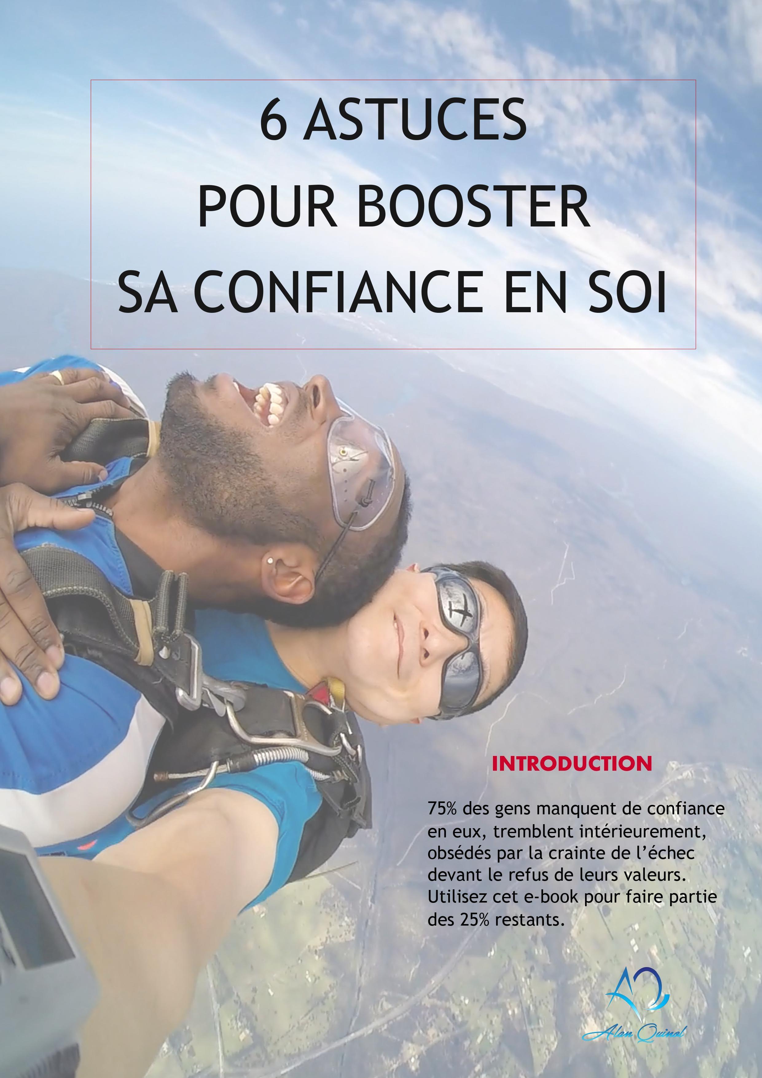 💥 6 astuces pour booster sa confiance en soi 📗 Ebook
