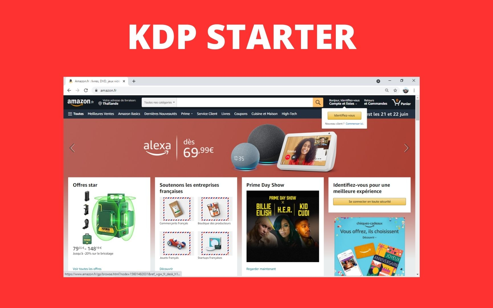 KDP Starter