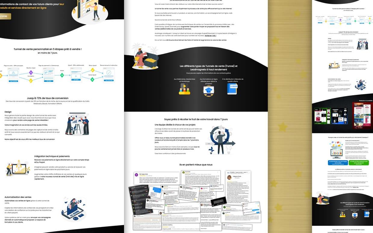 🎯 EXPERT FUNNEL - Jusqu'à ~146€ de commissions pour vous - 7 Jours pour devenir Expert en Tunnels de Vente + Email Marketing + Copywriting - Par Marc Boulet & TDV Media