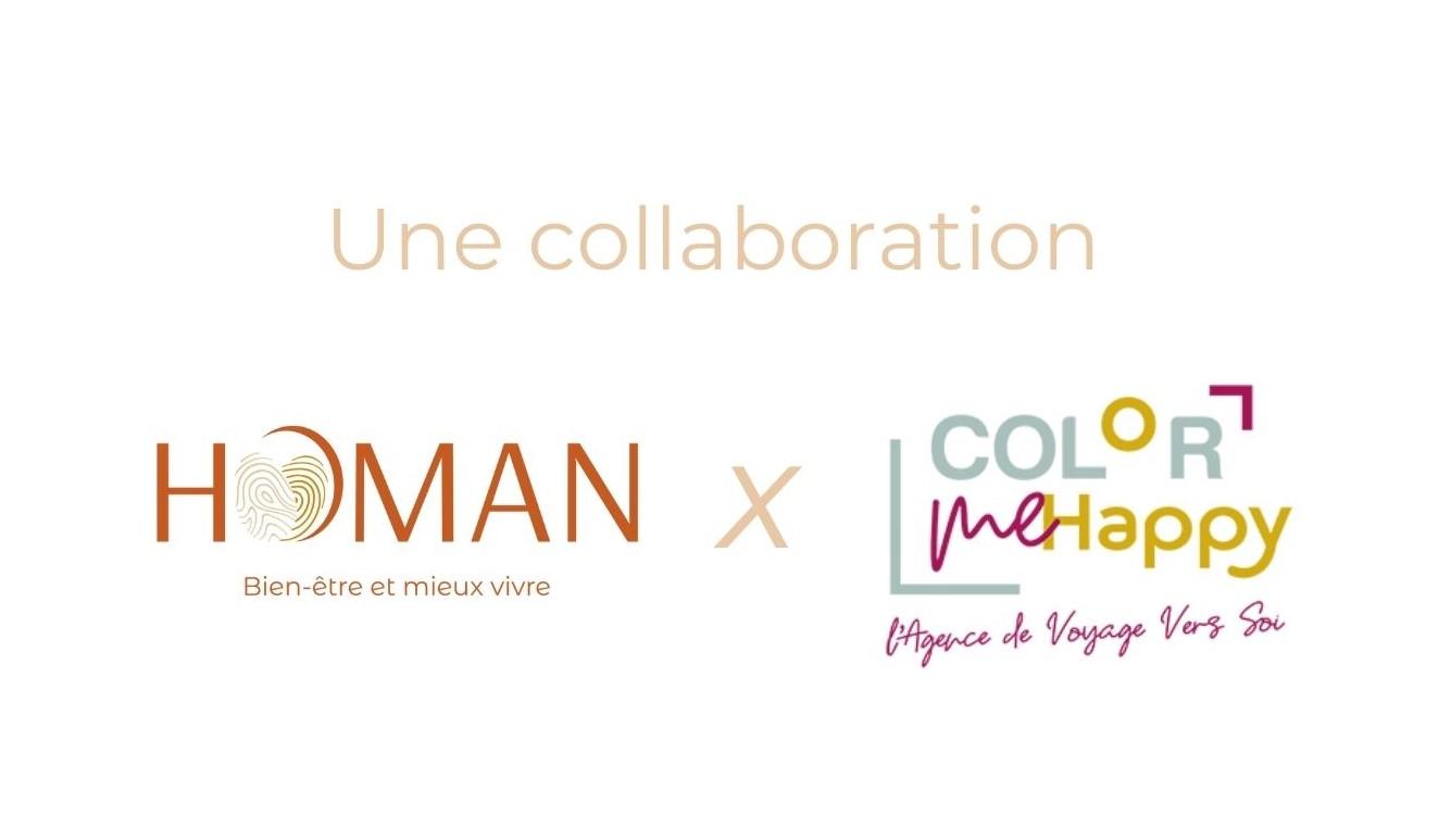 Collaboration Homan x Color Me Happy